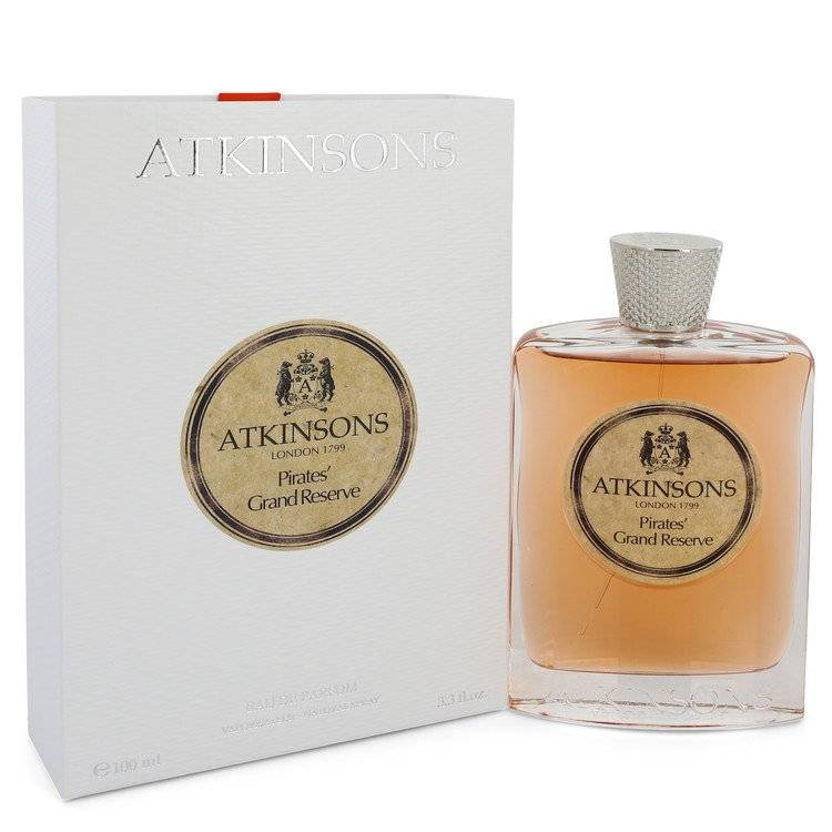 Pirates' Grand Reserve by Atkinsons Eau De Parfum Spray (Unisex) 3.3 oz for Women - rangoutlet.com