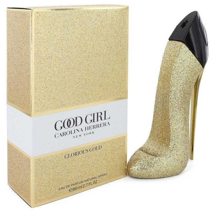 Good Girl Glorious Gold by Carolina Herrera Eau De Parfum Spray 2.7 oz for Women - rangoutlet.com