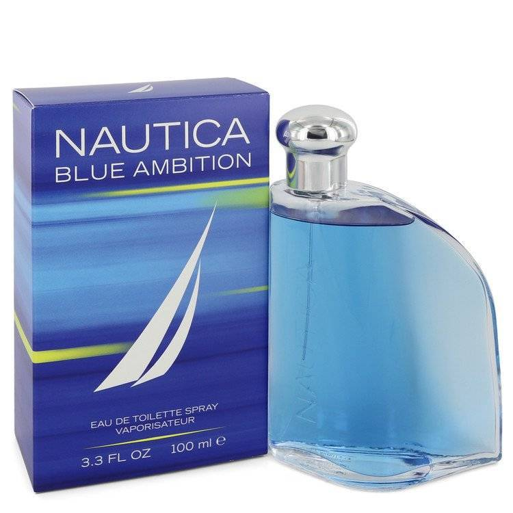 Nautica Blue Ambition by Nautica Eau De Toilette Spray 3.4 oz for Men - rangoutlet.com