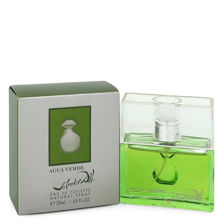 Agua Verde by Salvador Dali Eau De Toilette Spray 1 oz for Men - rangoutlet.com