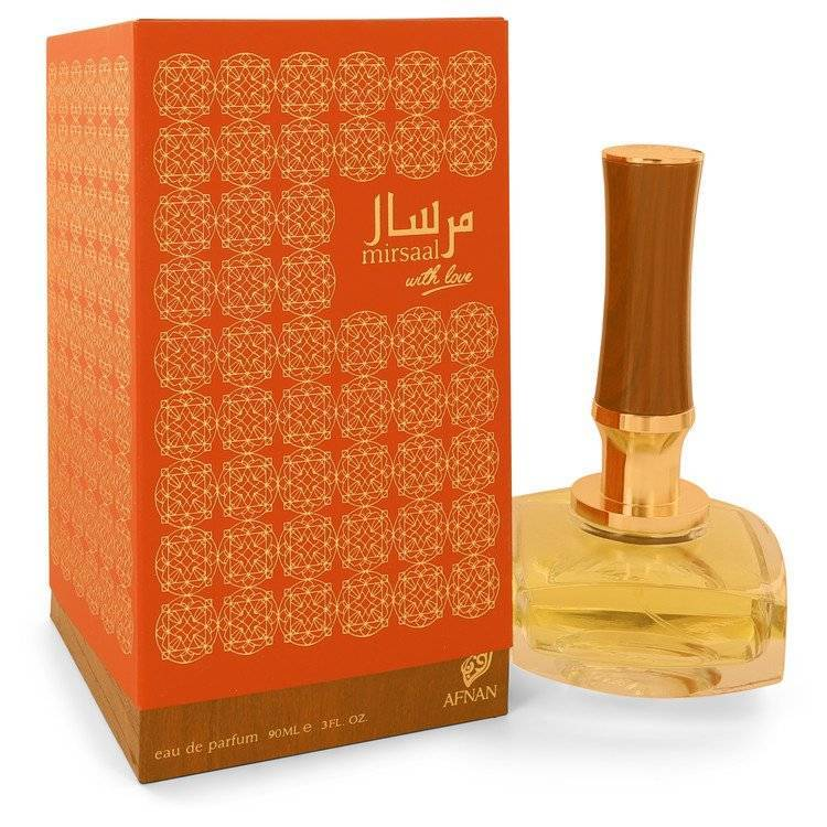 Afnan Mirsaal With Love by Afnan Eau De Parfum Spray 3 oz for Women - rangoutlet.com