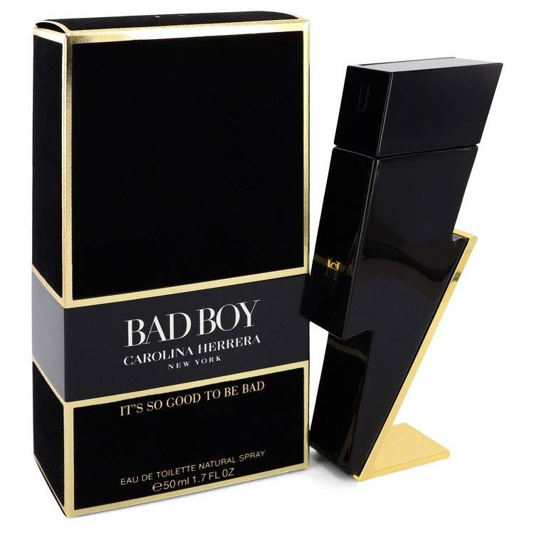 Bad Boy by Carolina Herrera Eau De Toilette Spray 1.7 oz for Men - rangoutlet.com