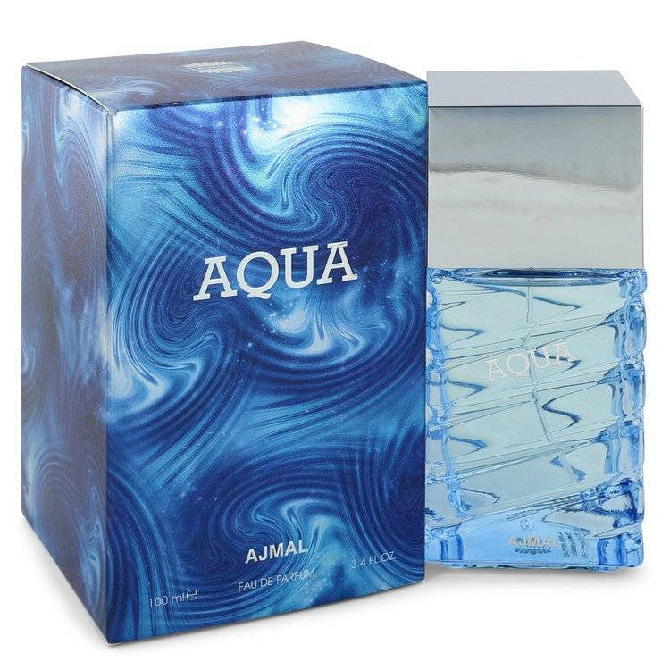 Ajmal Aqua by Ajmal Eau De Parfum Spray 3.4 oz for Men - rangoutlet.com