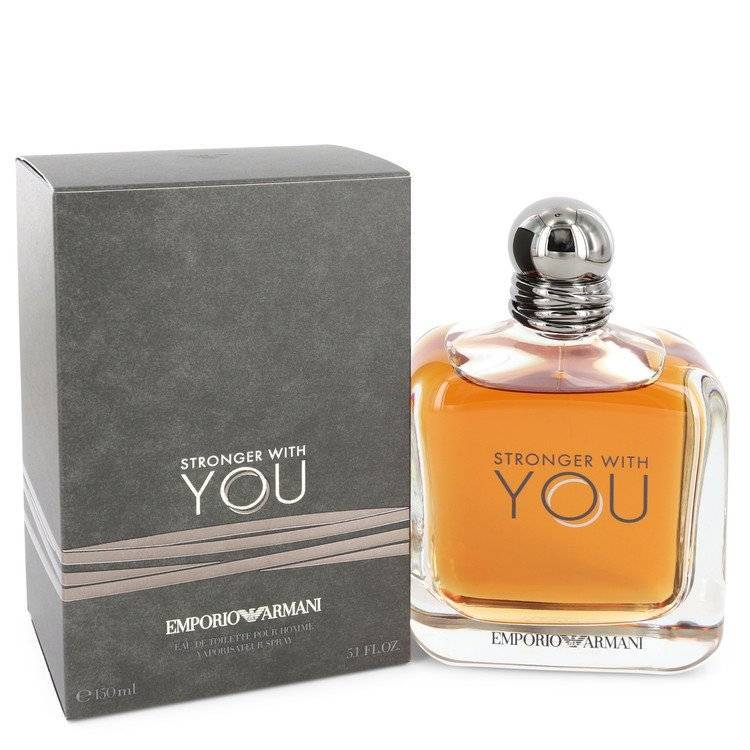 Stronger With You by Giorgio Armani Eau De Toilette Spray 5.1 oz for Men - rangoutlet.com