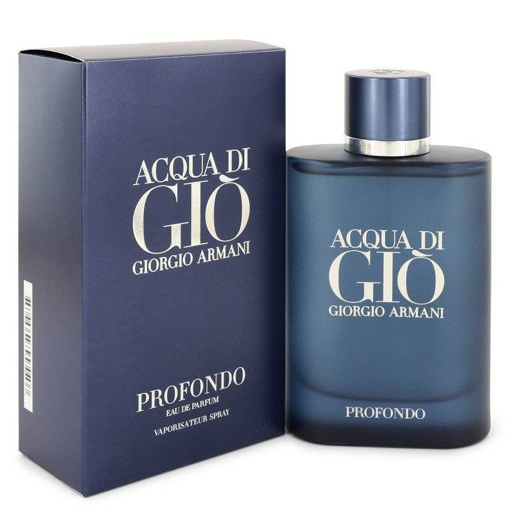 Acqua Di Gio Profondo by Giorgio Armani Eau De Parfum Spray 4.2 oz for Men - rangoutlet.com