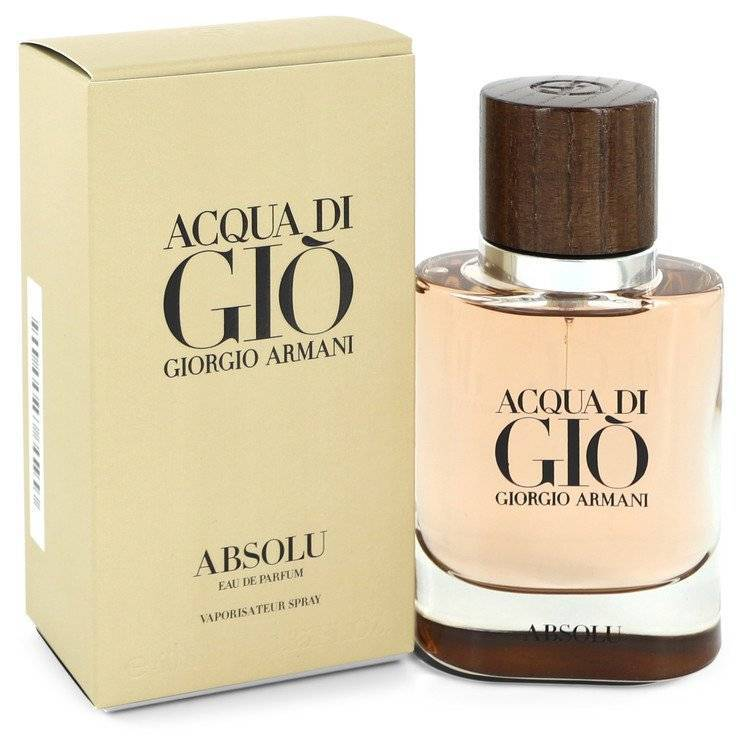 Acqua Di Gio Absolu by Giorgio Armani Eau De Parfum Spray 1.35 oz for Men