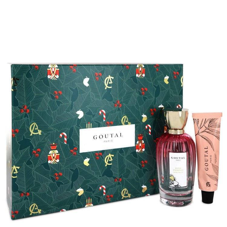 Annick Goutal Rose Pompon by Annick Goutal Gift Set -- 3.4 oz Eau De Toilette Spray + 1.3 oz Garden Hand Balm for Women - rangoutlet.com