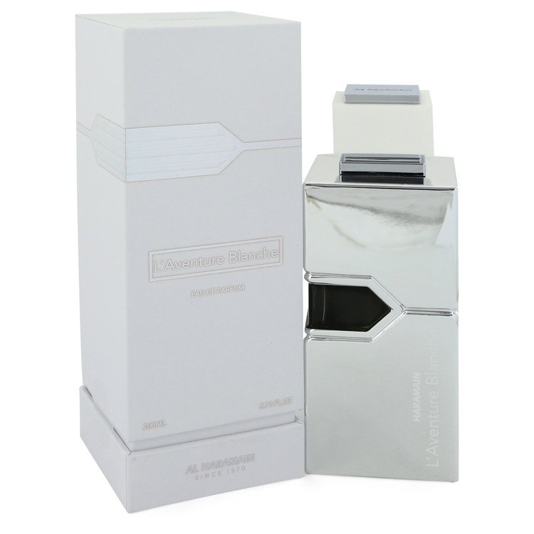 L'aventure Blanche by Al Haramain Eau De Parfum Spray (Unisex) 6.7 oz for Women - rangoutlet.com