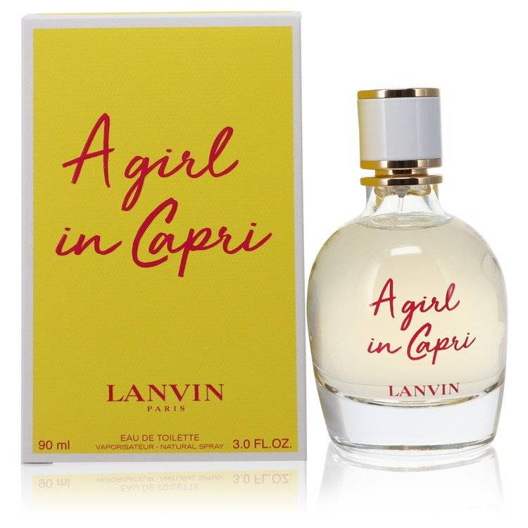 A Girl in Capri by Lanvin Eau De Toilette Spray 3 oz for Women