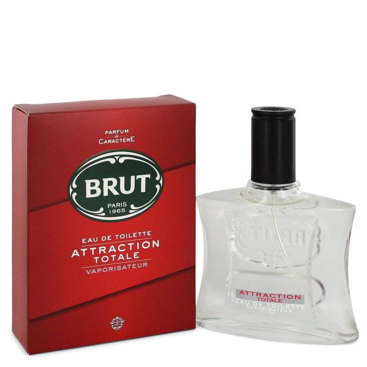 Brut Attraction Totale by Faberge Eau De Toilette Spray 3.4 oz for Men - rangoutlet.com