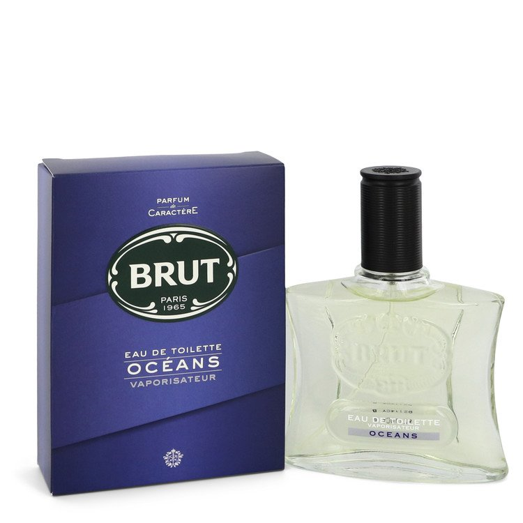 Brut Oceans by Faberge Eau De Toilette Spray 3.4 oz for Men - rangoutlet.com
