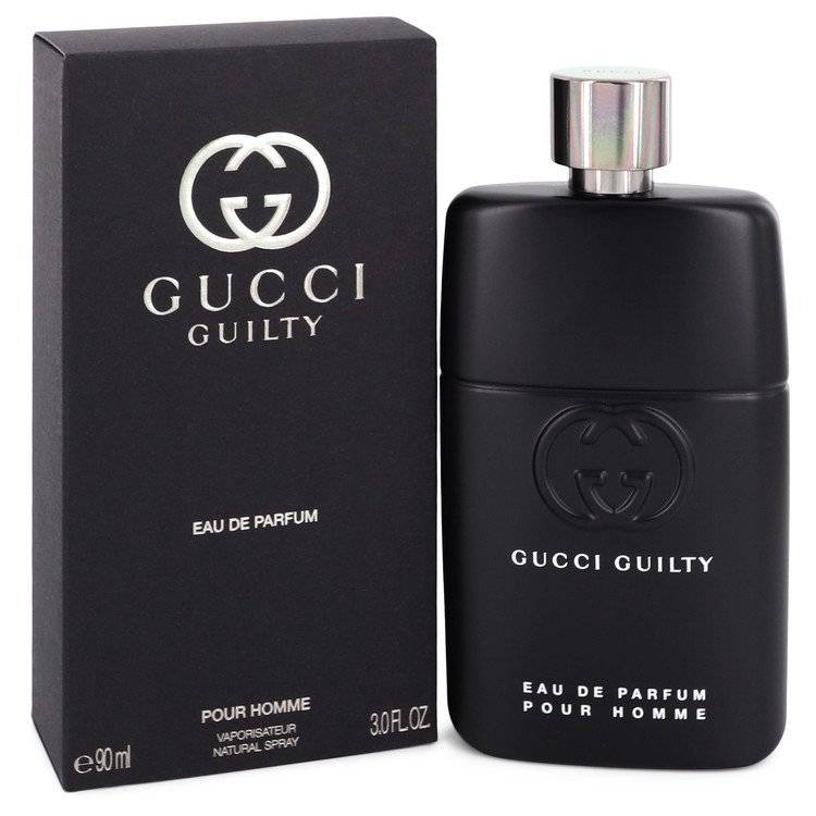 Gucci Guilty Pour Homme by Gucci Eau De Parfum Spray 3 oz for Men - rangoutlet.com