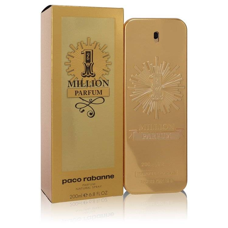 1 Million Parfum by Paco Rabanne Parfum Spray 6.8 oz for Men
