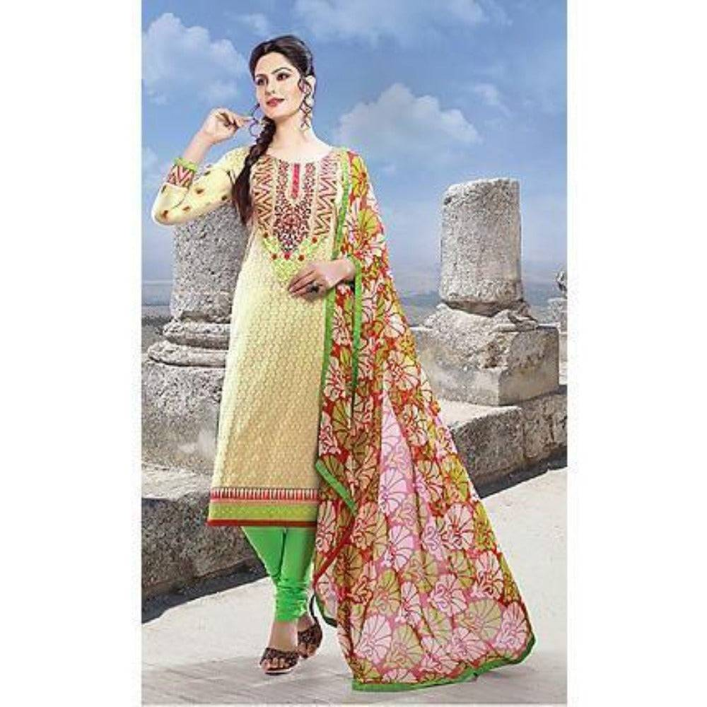 Off White Bollywood Pakistani Indian Designer Anarkali Salwar Kameez Churidar Suit Party Wear - rangoutlet.com