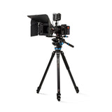Benro A373F Aluminum Single-Tube_Tripod with S8Pro Fluid Video Head