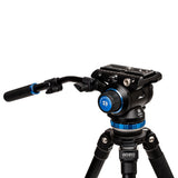 Best_Benro A373F Aluminum Single-Tube Tripod with S8Pro Fluid Video Head