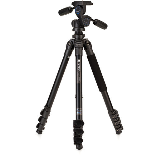 Benro TAD28AHD2 Adventure Aluminum Tripod with 3 Way head - Demo - VL Camera Photography Store