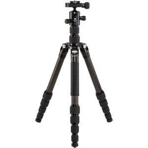 Benro Tripster Travel Tripod (1 Series, Black, Carbon Fiber) - Demo