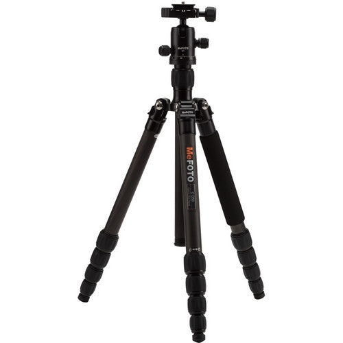 MeFOTO RoadTrip Carbon Fiber Travel Tripod Kit