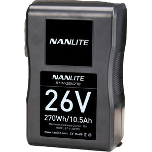 Nanlite 270Wh 26V V-Mount Li-Ion Battery