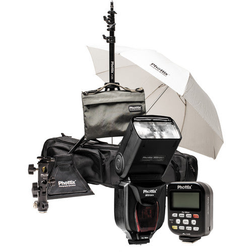 Phottix PH80378 Mitros+ & Odin Scott Kelby Kit for Nikon - Demo - VL Camera Photography Store