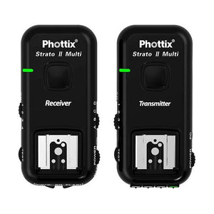 Phottix Strato II Multi 5-IN-1 Trigger Set for Canon (PH15651) - Demo - VL Camera Photography Store