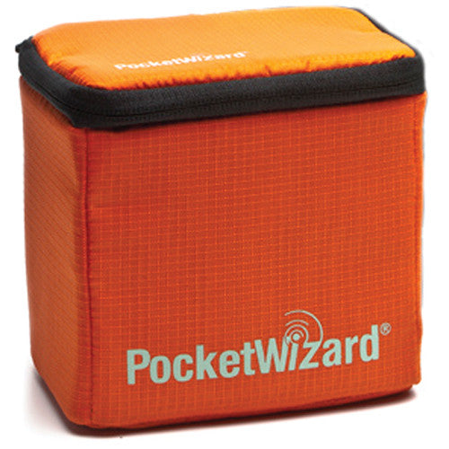 PocketWizard G-Wiz Squared Gear Case (Orange) - VL Camera Photography Store