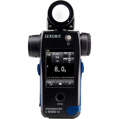 Sekonic L-858D-U Speedmaster Light Meter (401-858) - Demo - VL Camera Photography Store