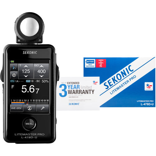 Sekonic LiteMaster Pro L-478D-U Light Meter - Demo - VL Camera Photography Store