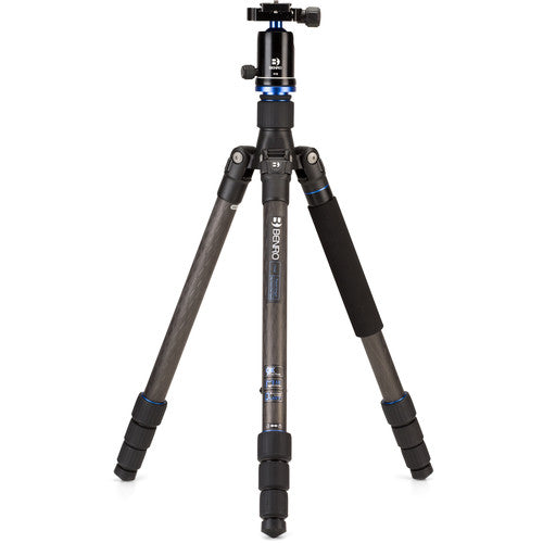 BENRO FTA28CV1 TRAVEL ANGEL SERIES 2 CARBON FIBER TRIPOD WITH V1E BALL HEAD