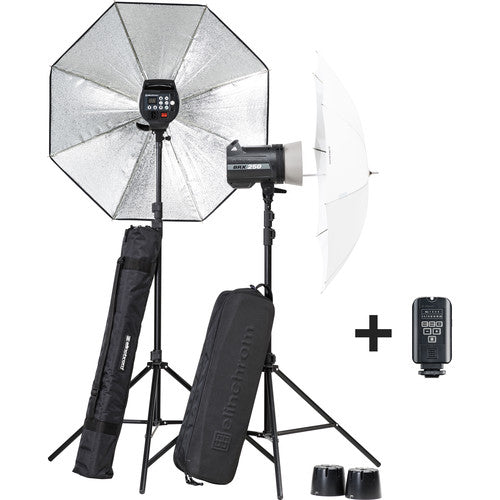Elinchrom BRX 250/250 Umbrella To Go Kit
