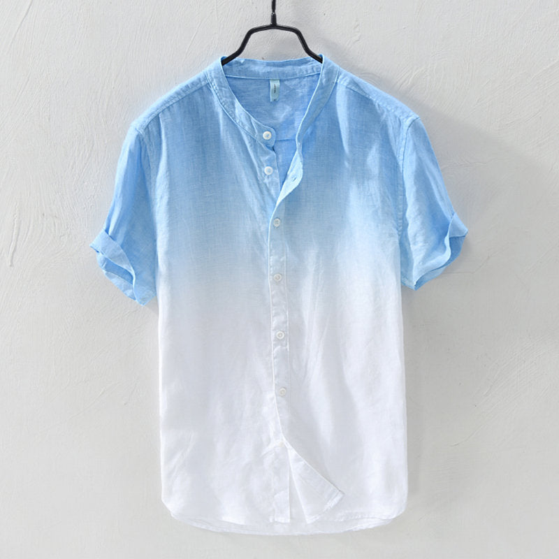 Gradient Cotton Shirt