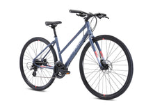 Load image into Gallery viewer, Fuji Absolute 1.9 ST Black and Grey Step Thru 16-Speed 17 & 19 Adult Hybrid Bike