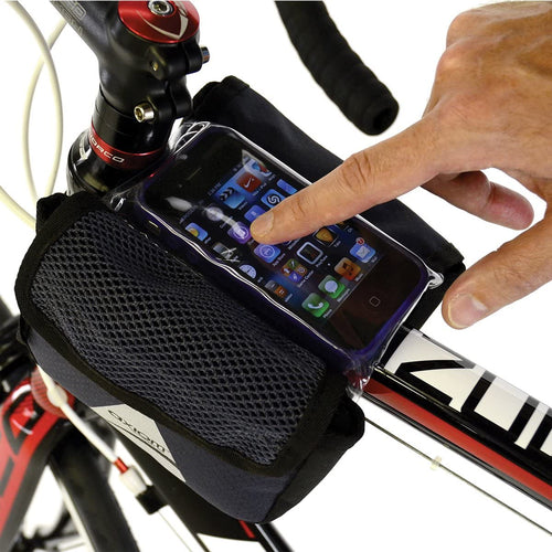 Axiom Phone Holder Double Bag Top Tube