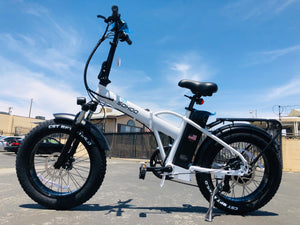 "SOHOO 48V500W10Ah EBike 20"" Folding Fat Tire Electric Bicycle"