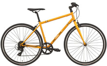 Load image into Gallery viewer, KHS Urban Soul 8 Hybrid Commuter Bicycle Bright Orange