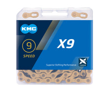 Load image into Gallery viewer, KMC X9 X-Bridge 9 Speed Chain