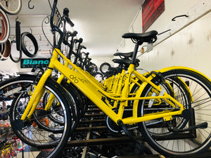 "OFO City Bike 26"" Unisex Step Through Rental Affordable Bike Shop Quality"