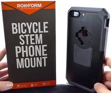 Load image into Gallery viewer, Rokform Bicycle Stem Phone Mount