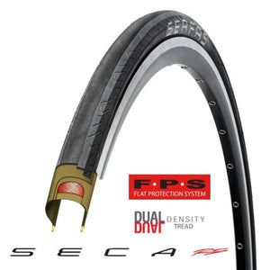 Serfas Seca RS Survivor Flat Protection System Tire 700c x 25