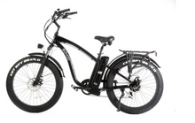 Load image into Gallery viewer, Sohoo Electric 48v 750w Beach Cruiser City E-Bike Folding Bike