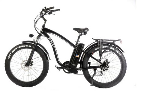 Sohoo 48v 750w Beach Cruiser Electric Bike