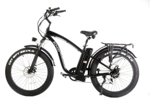 Sohoo Electric 48v 750w Beach Cruiser City E-Bike Folding Bike