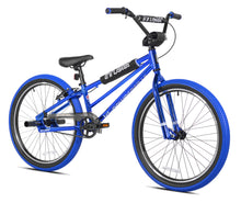 "Load image into Gallery viewer, 24"" Thruster Tri Power Pro XL BMX Blue Chrome"