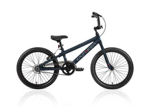 "Load image into Gallery viewer, Univega Arrow Speed 20"" Kids Bmx Matte Black and Hot Pink Bike Youth Aluminum SIngle speed"