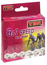Load image into Gallery viewer, YBN 6&7 Speed MTB/Road S50 Navy/Brown Chain