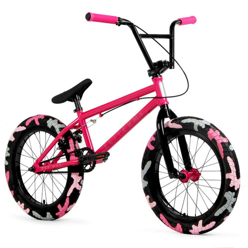 Elite Pink and Black BMX PEE WEE 18