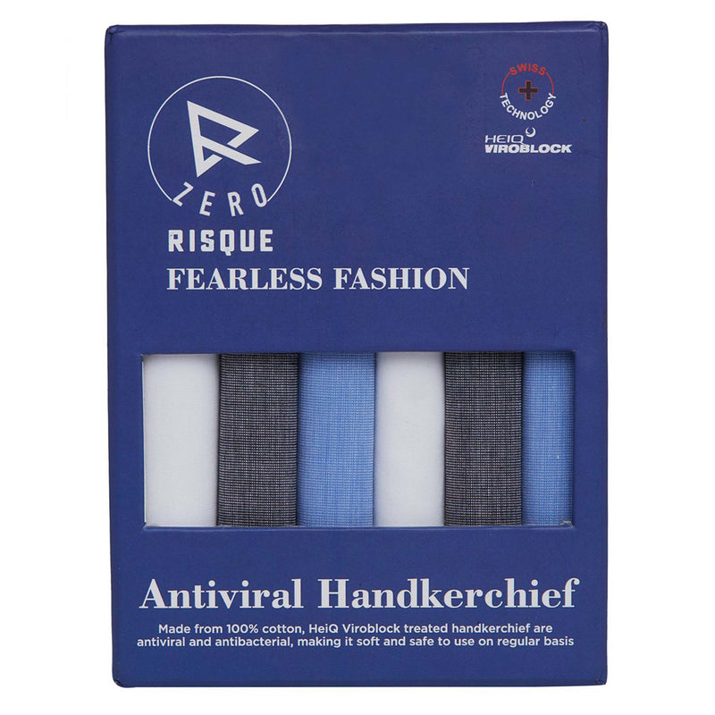 Zero Risque Handkerchief by Fearless Fashion (Pack of 6)