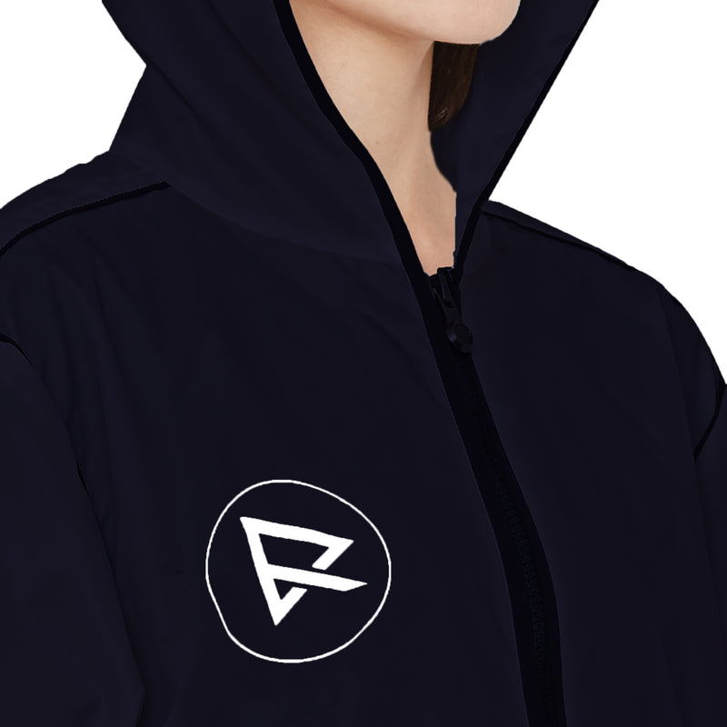 Zero Risque Multi Purpose Hooded Jacket | Navy Blue | Unisex Jacket