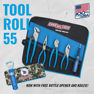 Tool Roll-55 5pc Professional Tool Set with Tool Roll